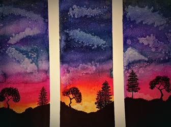 Three piece landscape design by RCAmbriz