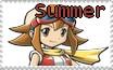 Summer stamp by hikariwalker