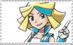 Blue Eyes Stamp by hikariwalker