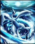 Ocean God - Lugia