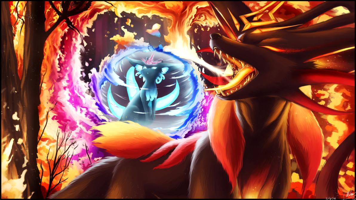 Kogahri's Story - Destruction - Panel 8 by ShupaMikey