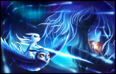 A New Journey - Ori and the Will of the Wisps by ShupaMikey