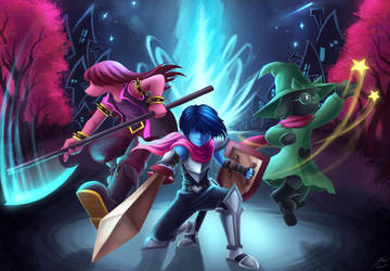 Delta Rune - Heroes Appear at Worlds' Edge by ShupaMikey