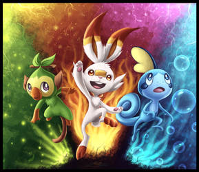 Choose Your Starter 2019! by ShupaMikey