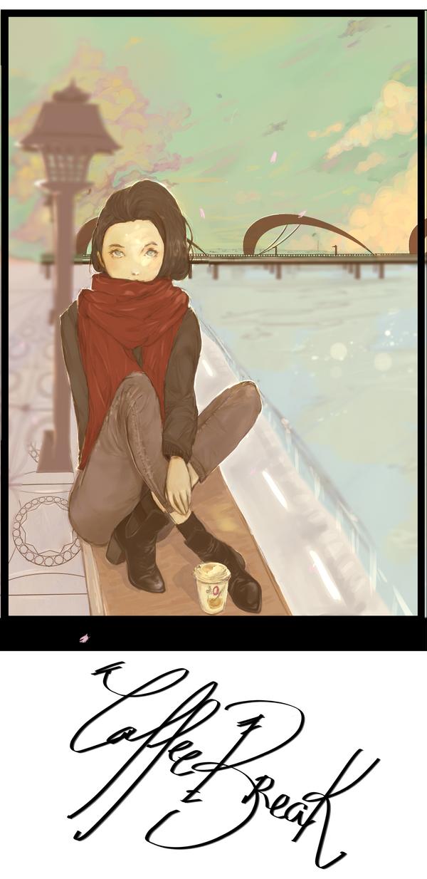 Coffe Break by AlitaLaFaith