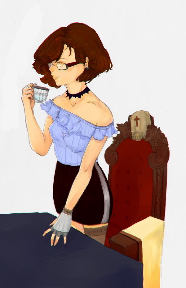 Tea Time by AlitaLaFaith