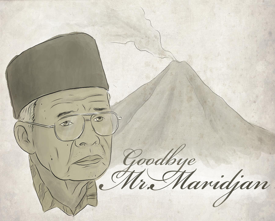 Goodbye Mr.Maridjan by karyadaridesa