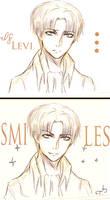 If Levi smiles by LacriChan