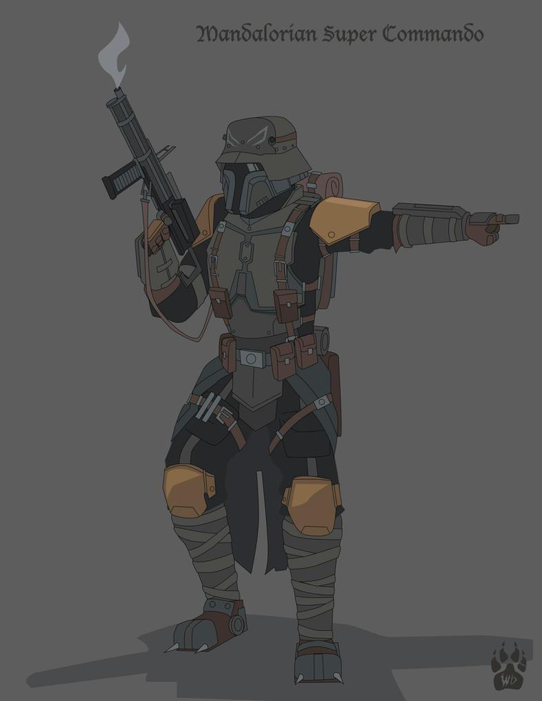 Battlefieldfront - Mandalorian Commando WW1 by Wolfdog-ArtCorner