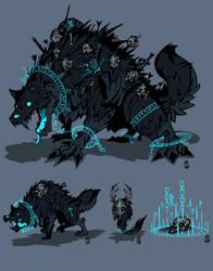 Fenrisian Frost Pack - Darkest Dungeon by Wolfdog-ArtCorner