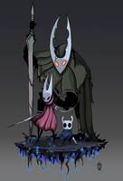 The Knights - Hollow Knight by Wolfdog-ArtCorner