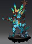 Skink Priest - Warhammer
