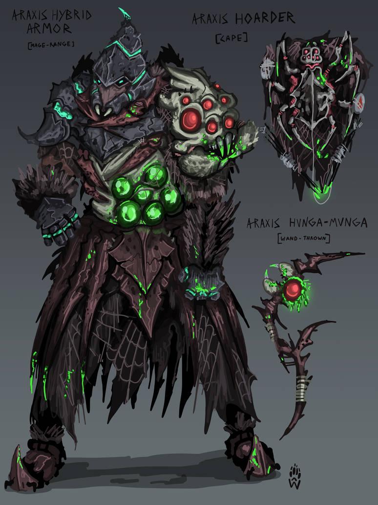 Araxis Hybrid Gear Concept Runescape By Wolfdog Artcorner