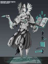 Bishop Thoth - SMITE Skin Concept