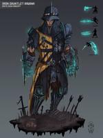 Iron Gauntlet Ravana - SMITE by Wolfdog-ArtCorner