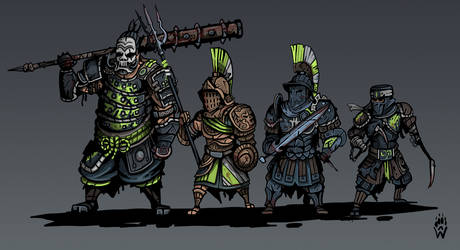 Darkest Dungeon For Honor Group