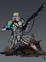 Parjai Squad Clone Paratrooper by Wolfdog-ArtCorner