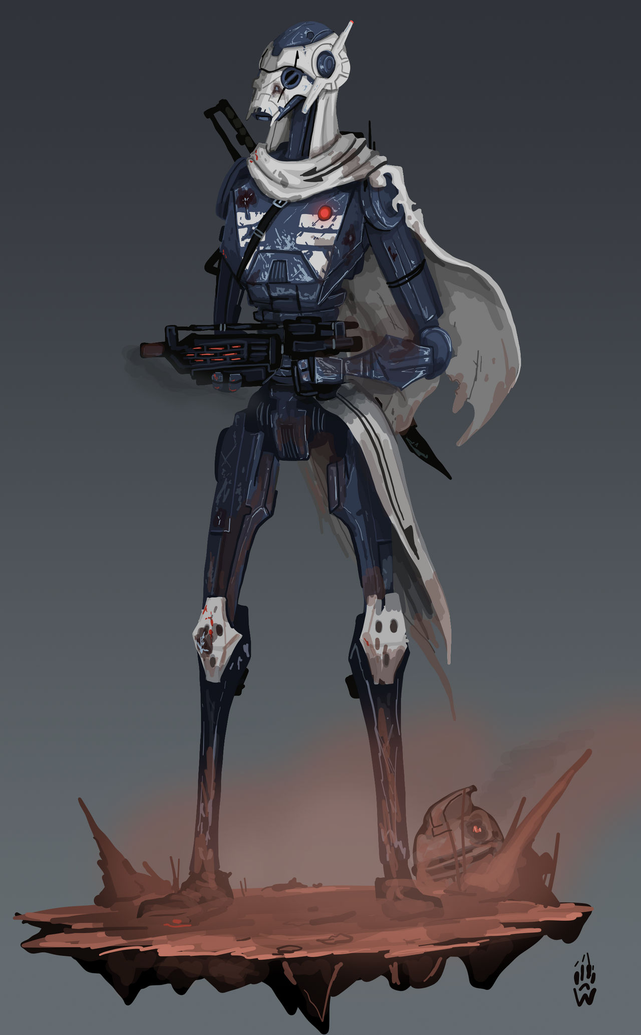 Grievous S Shock Trooper Commando Concept By Wolfdog