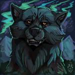 Winter Wolfdog