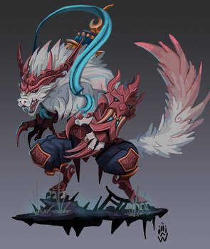Lunar Guardian Warwick - LoL