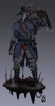 Bloodhound - crow crew - Apex Legends