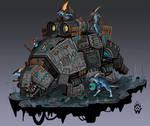 Gravissaurus Sun Cannon - The War in Heaven
