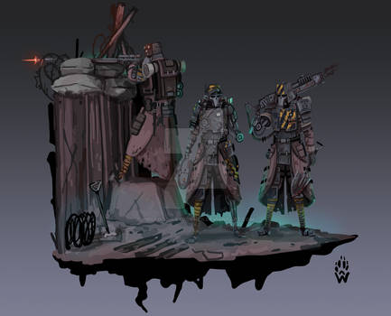 Iron Corps - Wh40k
