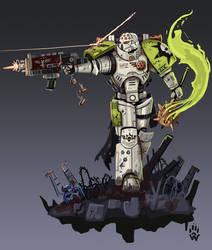 Death Guard Primaris Marine