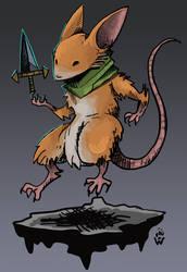 Mouse Guard ratatoskr - SMITE X over