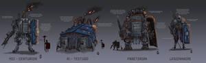 Nova Roma - Iron Harvest faction and unit concepts