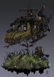 HU-3 Landspeeder