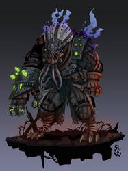 The Thing From Trench 666 - Cthulhu SMITE