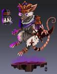 Rat king Ratatoskr - SMITE
