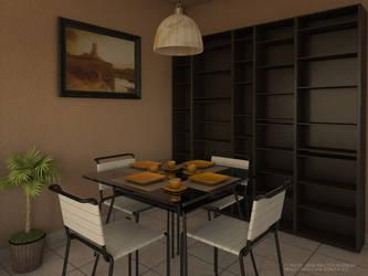 dining room by blacsteel