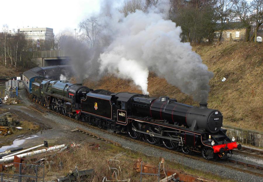 1T57 II by matt-durkan-railways
