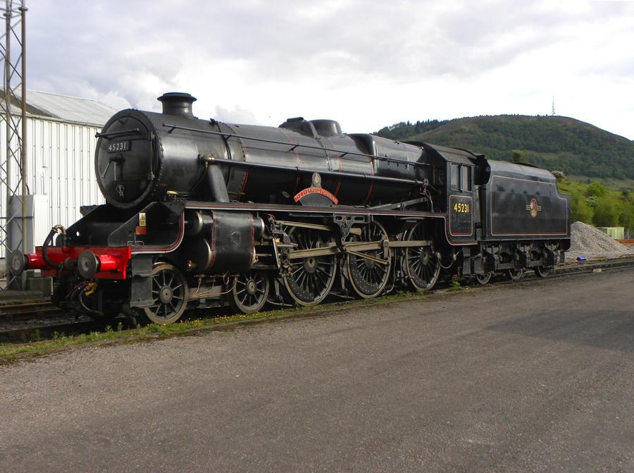 45231 V by matt-durkan-railways
