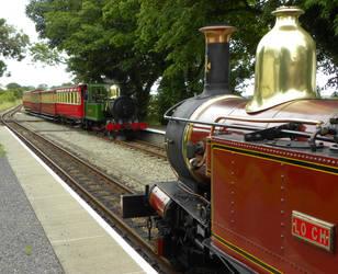 Loch and G. H. Wood by matt-durkan-railways