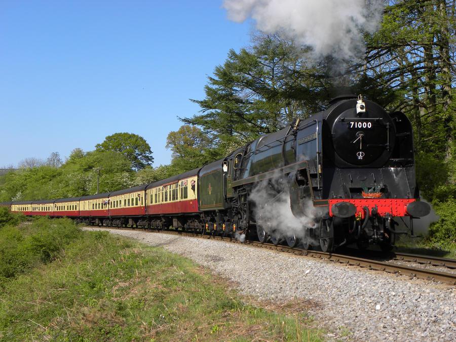 71000 II by matt-durkan-railways