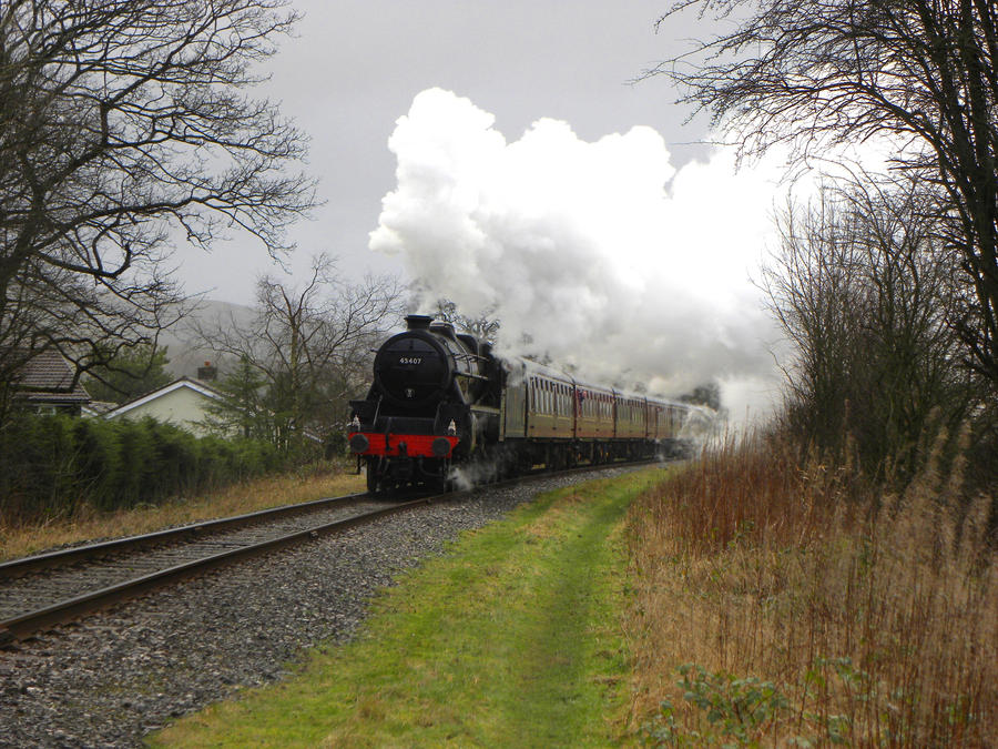 45407 XV by matt-durkan-railways