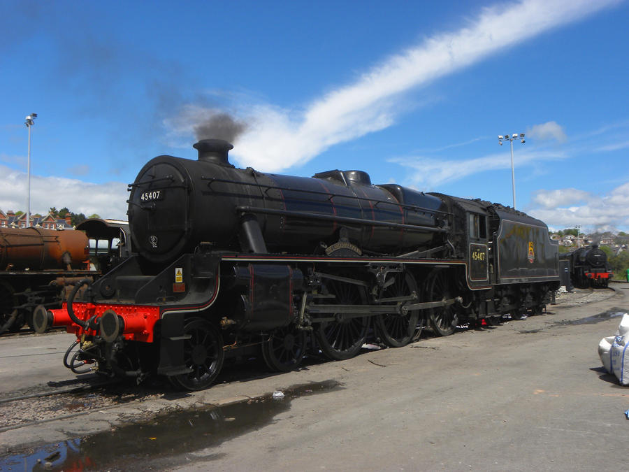 45407 XVII by matt-durkan-railways