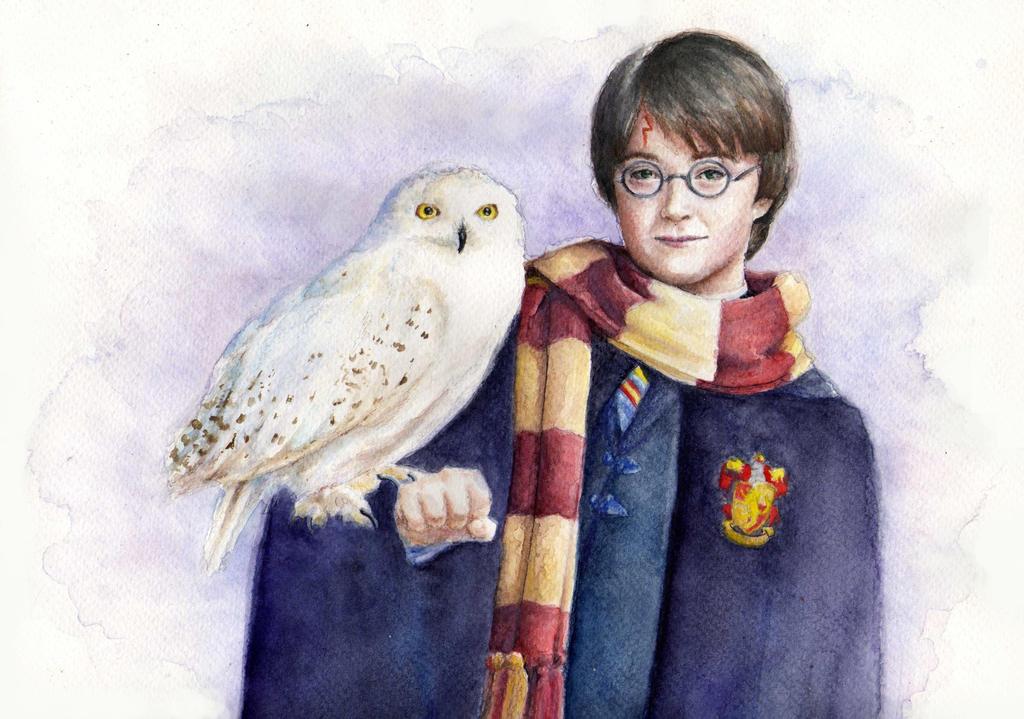 Harry Potter by Opheliac98