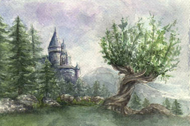 Whomping Willow by Opheliac98