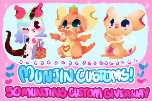 Munjin Customs Giveaway! |CLOSED|