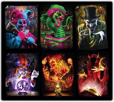Dark Carnival by MyLittleRoseluck