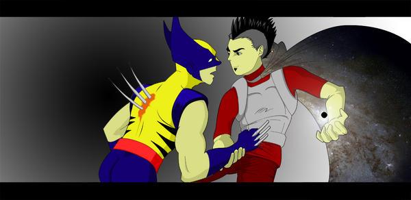 Wolverine vs. Flux by fiercejarad