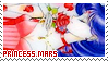 Sailor Moon - Princess Mars Stamp by MireiKaibatsuki