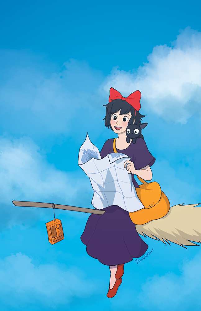 Kiki's Delivery Service by pickletoez