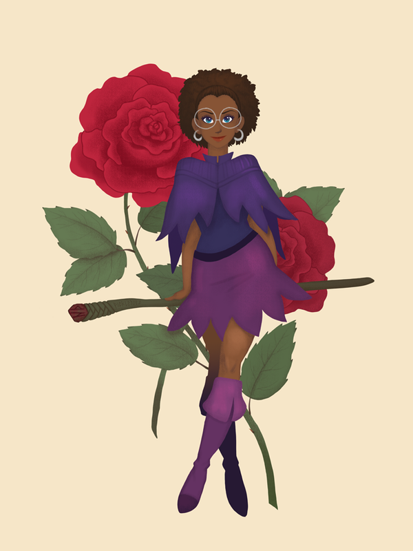 Rose Witch by pickletoez