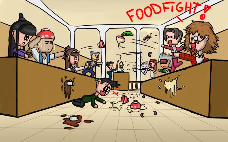 Pubg By Sodano On Deviantart: Foodfight By Berendsnors-Fanart On DeviantArt