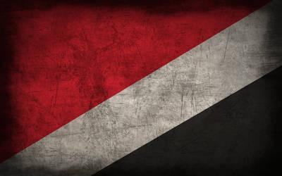 Sealand Grunge Flag